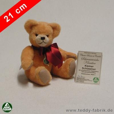 Teddybär Kleiner Schlawiner 21 cm schmuseweiche Klassiker