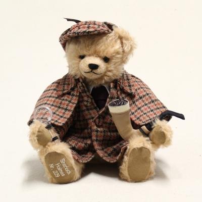 Sherlock Holmes Teddy Bear by Hermann-Coburg