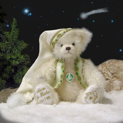 Adeste Fideles Teddy Bear by Hermann-Coburg