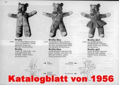 Drolly Bär  24 cm von Hermann-Coburg