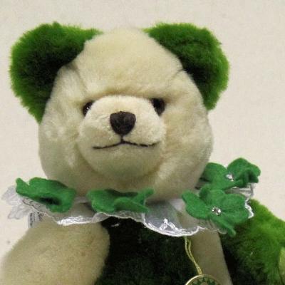 Mein Glücksbärchen für 2019 25 cm Teddybär von Hermann-Coburg