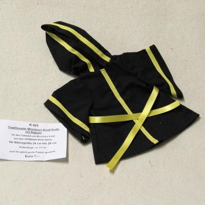Traditionelle Münchner Kindl Kutte mit Kapuze siehe Details in der Produkterklärung oben für alle Daten in  cm Teddy Bear by Hermann-Coburg