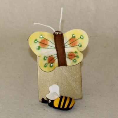 Kleines Sommerglück 2-teiliges Schmetterling/Biene Set siehe Details in der Produkterklärung oben für alle Daten in  cm Teddy Bear by Hermann-Coburg