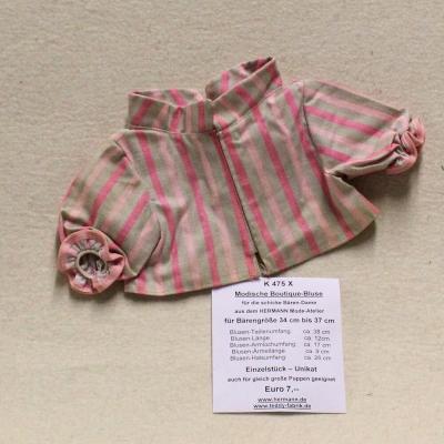 Modische Boutique-Bluse siehe Details in der Produkterklärung oben für alle Daten in  cm Teddy Bear by Hermann-Coburg
