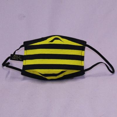 Wiederverwendbare Mund- und Nasen-Behelfsmaske Modell Coburg  mit Hygiene Vlies