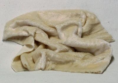 Vintage Teddy-Plüsch eierschale 70 x 70 cm