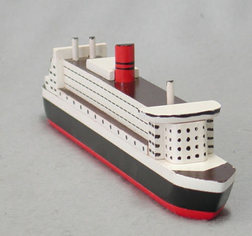 Holzmodell des Luxusliners, Material: Holz, Grö - Teddy-Fabrik - Der ...