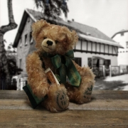 Jubilee Teddy Bear 99 years of a companys history 36 cm Teddy Bear by Hermann-Coburg