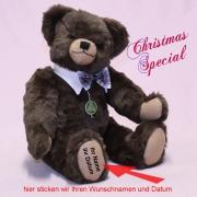 Christmas Special 2020 Modell: dunkel-braun 40 cm Teddy Bear by Hermann-Coburg