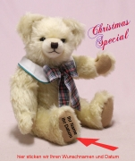 Christmas Special 2020 Modell: hell-beige 40 cm Teddy Bear by Hermann-Coburg