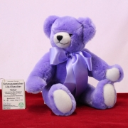 Schmuseweicher Lila Klassiker 38 cm Teddy Bear
