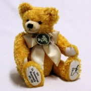 24. Sonneberg Museumsbear 2017 38 cm Teddy Bear by Hermann-Coburg