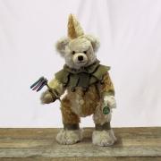 27. Sonneberger Museumsbär 2020 35 cm Teddybär von Hermann-Coburg