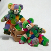 Wir sind bunt – Teddy  35 cm Teddy Bear by Hermann-Coburg