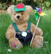 Windmühlenbär 1. in der Reihe Sommerspiele 35 cm Teddy Bear