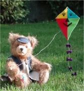 Drachenbär 2. in der Reihe Sommerspiele 31 cm Teddy Bear