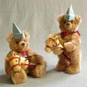 Reiterbär  3. in der Reihe Sommerspiele 31 cm Teddy Bear