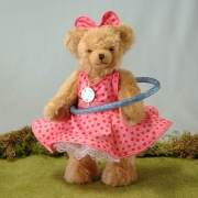Hula Hoop Bär – rosa 4. in der Reihe Sommerspiele 30 cm Teddy Bear