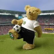 Fußball Bär – 5. in der Reihe Sommerspiele 31 cm Teddy Bear