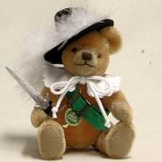 Club Bär 2014 – Einer für Alle – Alle für Einen 19 cm Teddy Bear by Hermann-Coburg