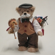 The Old Thuringian Toy Manufacturer 36 cm Teddy Bear by Hermann-Coburg