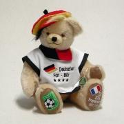 Deutscher Fan Bär  EM 2016 - 35 cm Teddybär von Hermann-Coburg