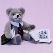 The Teddybear Collector 18 cm Teddy Bear by Hermann-Coburg