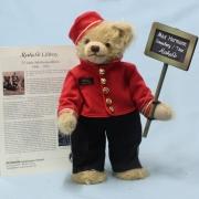 Maheso Liftboy Club-Edition 2021 35 cm Teddy Bear by Hermann-Coburg