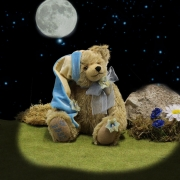 Good Night Muiscal Bear 34 cm Teddy Bear by Hermann-Coburg
