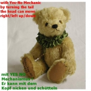 Nicky - Yes No Bär  Teddy Bear by Hermann-Coburg