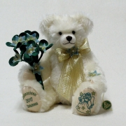 HERMANN Christmas Bear 2017 35 cm Teddy Bear by Hermann-Coburg