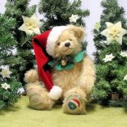 HERMANN Christmas Bear 2021 34 cm Teddy Bear by Hermann-Coburg