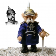 Otto von Bismarck 40 cm Teddy Bear by Hermann-Coburg
