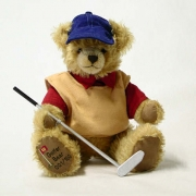 Golfer Bär Teddy Bear by Hermann-Coburg