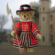 Beefeater - The Royal Yeoman Warder Teddy Bear by Hermann-Coburg