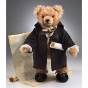 George Washington Teddy Bear by Hermann-Coburg