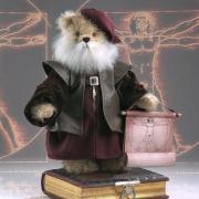 Leonardo da Vinci Teddybär von Hermann-Coburg