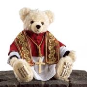 Papst Benedikt XVI Teddybär von Hermann-Coburg