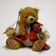 Antonio Vivaldi Teddy Bear by Hermann-Coburg