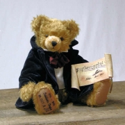 Frédéric Chopin Teddy Bear by Hermann-Coburg