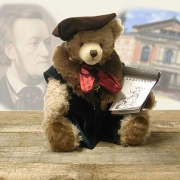 Richard Wagner Teddy Bear by Hermann-Coburg