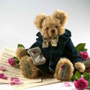 Franz Schubert Teddy Bear by Hermann-Coburg