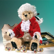 Amadeus Mozart Teddy Bear by Hermann-Coburg