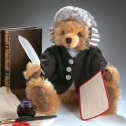 Johann Sebastian Bach Teddy Bear by Hermann-Coburg