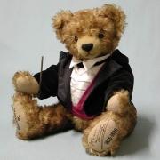 Der Walzerkönig Johann Strauß Teddybär von Hermann-Coburg