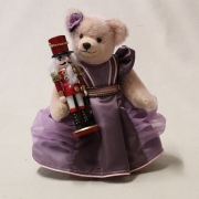 Clara and the Nutcracker  33 cm Teddy Bear by Hermann-Coburg