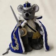 Mouse King 33 cm Teddy Bear by Hermann-Coburg