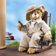 Mark Twain Teddy Bear by Hermann-Coburg