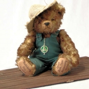 Huckelberry Finn Teddy Bear by Hermann-Coburg