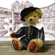 William Shakespeare Teddy Bear by Hermann-Coburg